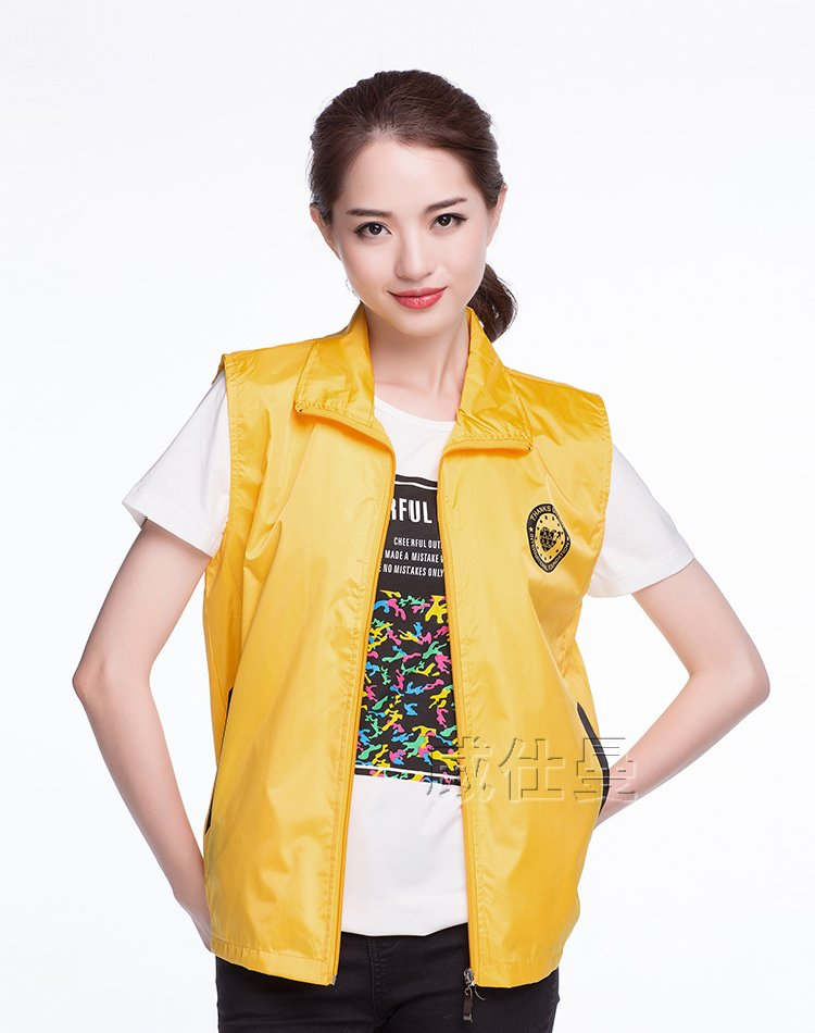 广州工作服宣传马甲