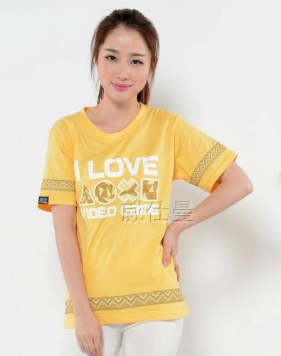 女式短袖t恤衫