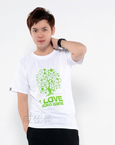 圆领T恤印logo
